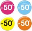boutons -50%