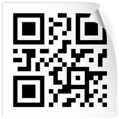 label with qr code