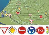 traffic regulations poster