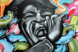 Fototapete Musik - Seele - Graffiti