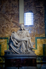 The Pieta - sculpture by Michelangelo Buonarroti, Vatican