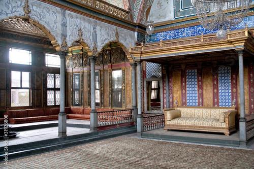 Harem in Topkapi palace, Istanbul, Turkey