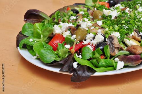Salatplatte