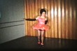 Girl Tap Dancing In Pink Dress (1958 Vintage 8mm film)