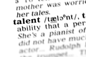 talent (the dictionary project)