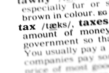 tax (the dictionary project)
