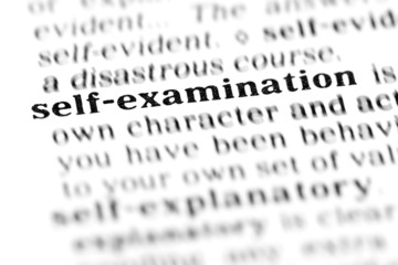 self - examination (the dictionary project)