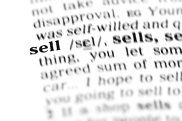 sell (the dictionary project)