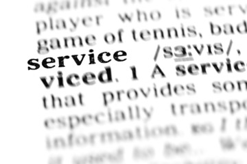service (the dictionary project)