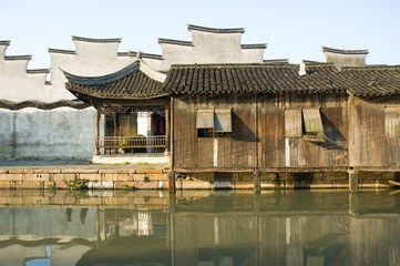 traditional architecture in Wuzhen