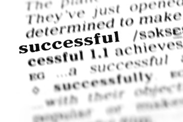 successful  (the dictionary project)