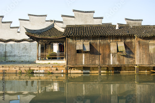 traditional architecture in Wuzhen