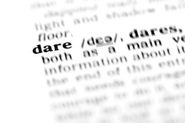 dare (the dictionary project)