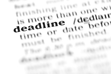 deadline (the dictionary project)