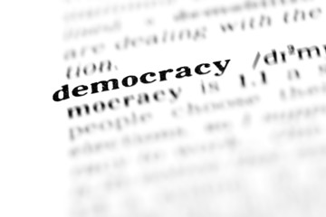 democracy (the dictionary project)