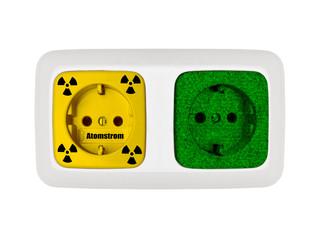 Atomstrom gegen Ökostrom