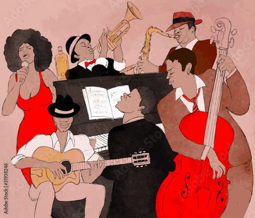 Jazz band - 31938246