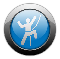 "Metallic Orb Button ""Rock Climbing"""