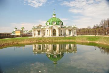 Усадьба Кусково. Павильон Грот в стиле Русского барокко