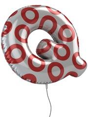 letter Q balloon 3d illustration