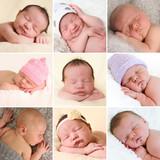 Newborn babies collection
