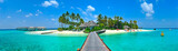 Maldives island Panorama - 31946624