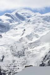 Mont Blanc et glaciers