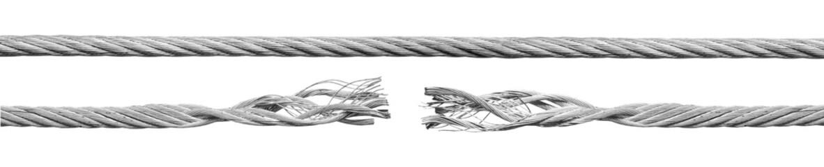 Metal rope part