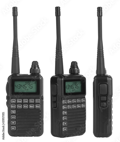 Portable radio sets