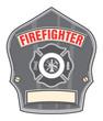 Firefighter Helmet Badge
