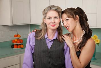 Confident Lesbian Couple
