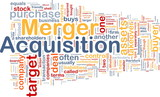 Merger acquisition background concept poster