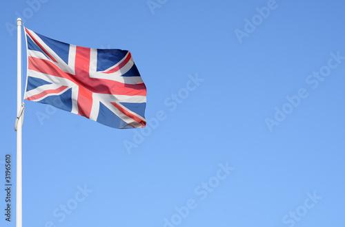 Bandiera inglese con spazio per testo Poster