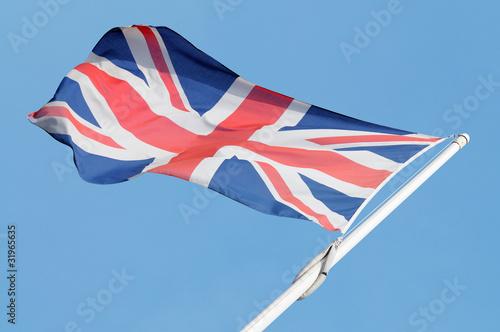 Bandiera inglese Poster