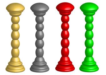color pillar