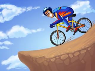 Downhill sportsman