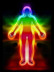 Energiebild Aura Körper Chakra