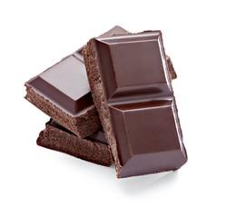 chocolate dessert pieces sweet food