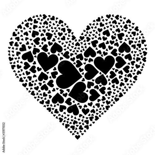 herzform schwarz weiss herz liebe valentinstag stockfotos und lizenzfreie vektoren auf. Black Bedroom Furniture Sets. Home Design Ideas