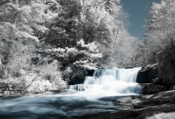 Infrared Waterfall