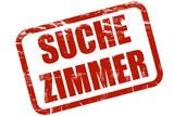 Grunge Stempel roT SUCHE ZIMMER