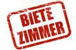 Grunge Stempel BIETE ZIMMER