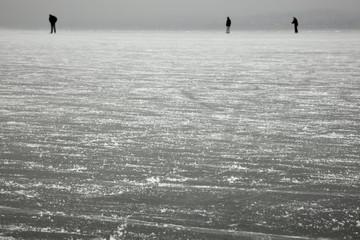 Eisfläche