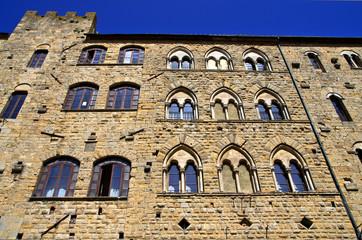 Toscana, Volterra: palazzo Medievale in piazza dei Priori