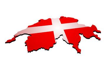 landkarte schweiz 1