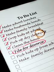 planning a divorce