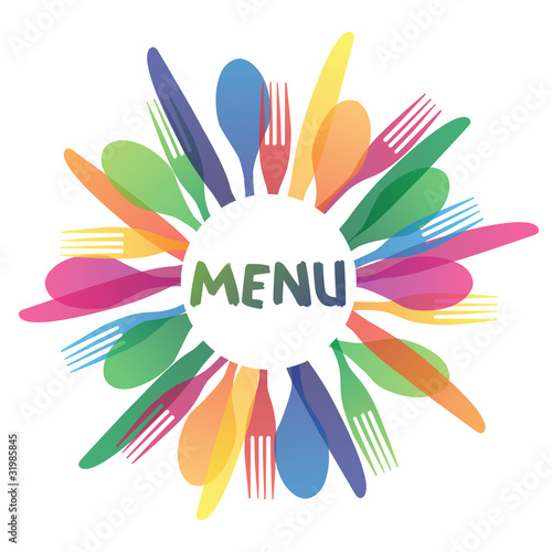 Restaurant Catering Menu Logo