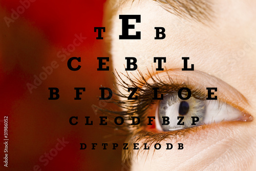 Beautiful Eye - Eyechart II