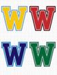 Vector Alphabet - Tackle Twill