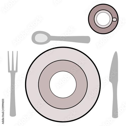 Gedeck tisch besteck stockfotos und lizenzfreie vektoren for Besteck tisch